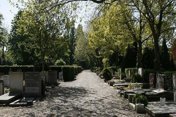 Begrafenis op Vredenhof Amsterdam
